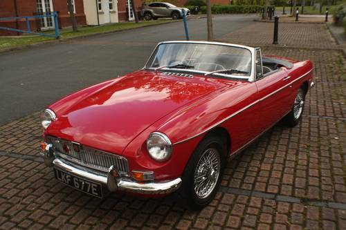 1967 Mk1 MGB Roadster - HERITAGE SHELL - Tartan Red SOLD (picture 1 of 6)