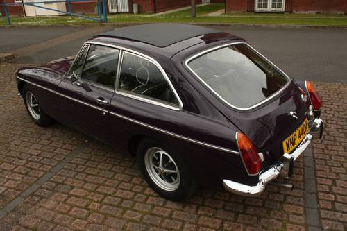 1973 MGB GT - Black Tulip, Reliable car - MGBGT MG BGT SOLD (picture 2 of 6)