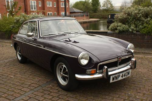 1973 MGB GT - Black Tulip, Reliable car - MGBGT MG BGT SOLD (picture 3 of 6)
