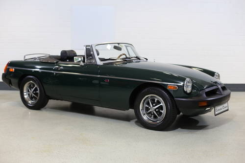 1976 A nicely presented 'ready for summer' MGB Roadster SOLD (picture 1 of 6)