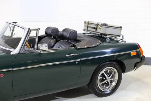 1976 A nicely presented 'ready for summer' MGB Roadster SOLD (picture 3 of 6)