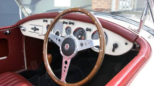 1957 MGA 1800cc, 5 speed gearbox roadster, fully restored SOLD (picture 5 of 6)