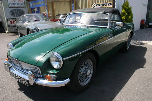 1969 MGB MK2, University motors supplied, Power steering , SOLD (picture 1 of 6)