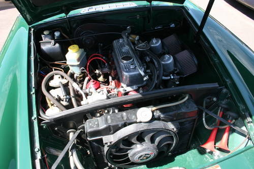 1969 MGB MK2, University motors supplied, Power steering , SOLD (picture 3 of 6)