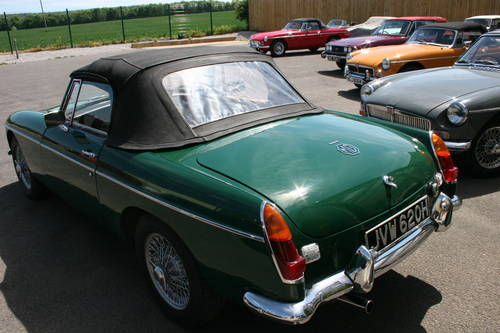 1969 MGB MK2, University motors supplied, Power steering , SOLD (picture 5 of 6)