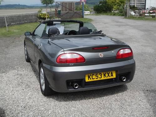 2004 MG TF 1.8 135 ONLY 30,000 MILES. 2 OWNERS FSH. SOLD (picture 3 of 6)