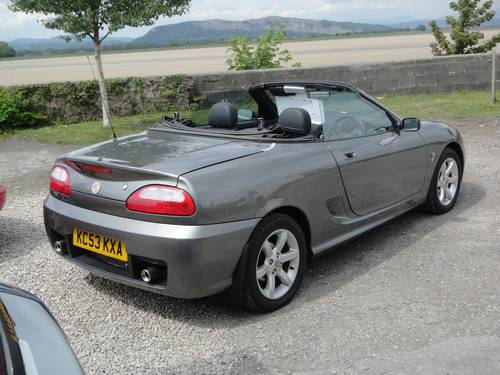 2004 MG TF 1.8 135 ONLY 30,000 MILES. 2 OWNERS FSH. SOLD (picture 4 of 6)
