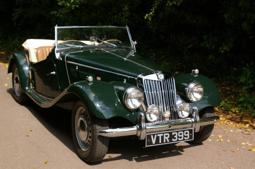 1954 MG TF 1250 SOLD (picture 1 of 5)