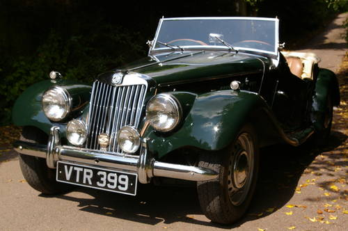 1954 MG TF 1250 SOLD (picture 2 of 5)