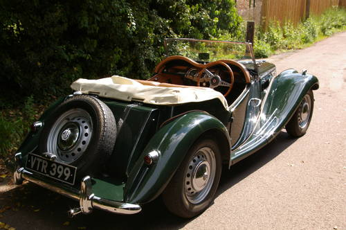 1954 MG TF 1250 SOLD (picture 3 of 5)