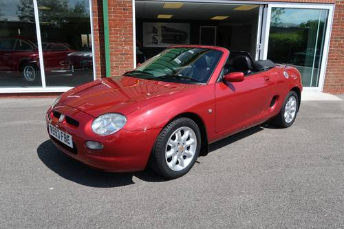 2000 MGF 1.8i Roadster, Low Mileage, One Owner For Sale SOLD (picture 1 of 6)