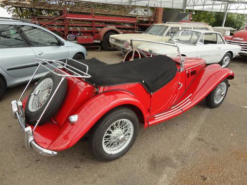 1954 MG TF red '54 perfect For Sale (picture 2 of 6)