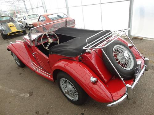 1954 MG TF red '54 perfect For Sale (picture 3 of 6)