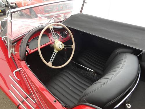 1954 MG TF red '54 perfect For Sale (picture 4 of 6)