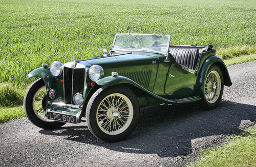 1947 MG TC  **SOLD** For Sale (picture 1 of 6)