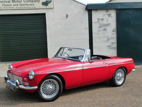 1970 Stunning MGB roadster SOLD (picture 1 of 6)