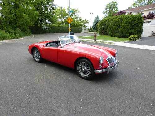 1957 MG A 1500 Roadster Older Nice Restoration - SOLD (picture 1 of 6)