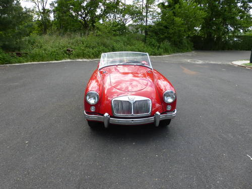1957 MG A 1500 Roadster Older Nice Restoration - SOLD (picture 2 of 6)
