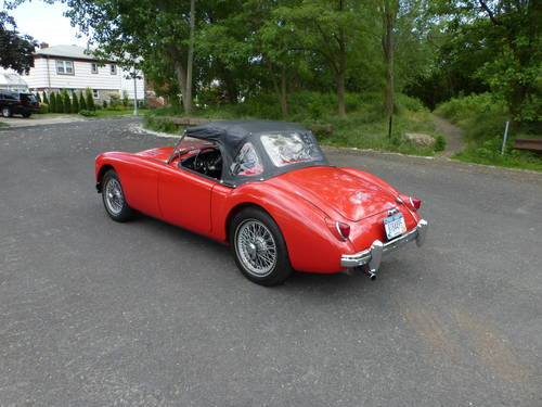 1957 MG A 1500 Roadster Older Nice Restoration - SOLD (picture 4 of 6)