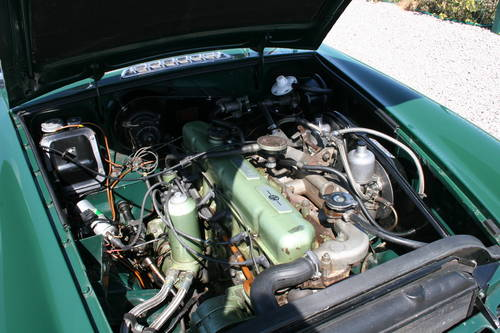 1968 MGC Roadster, UK car in BRG SOLD (picture 5 of 5)