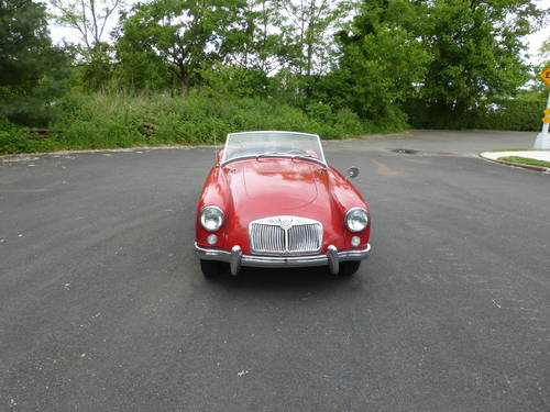 1959 MG A 1500 Roadster Good Driver - SOLD (picture 2 of 6)