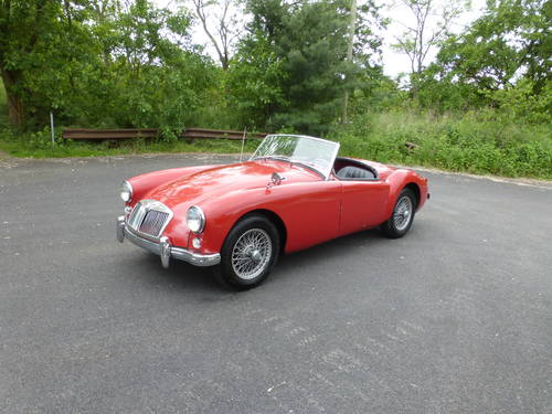 1959 MG A 1500 Roadster Good Driver - SOLD (picture 3 of 6)