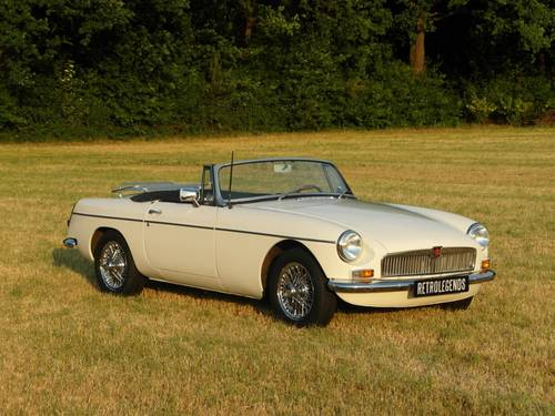 MG B Roadster 1964 lhd,    € 24.900,- SOLD (picture 1 of 6)