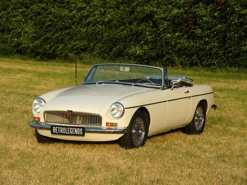 MG B Roadster 1964 lhd,    € 24.900,- SOLD (picture 2 of 6)