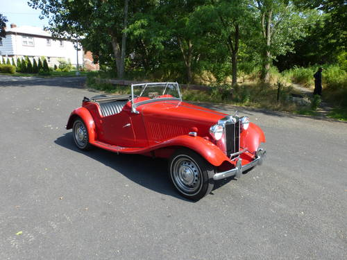 1953 MG TD MK-II A Good Driver - SOLD (picture 1 of 6)