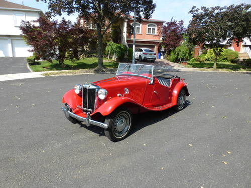 1953 MG TD MK-II A Good Driver - SOLD (picture 3 of 6)