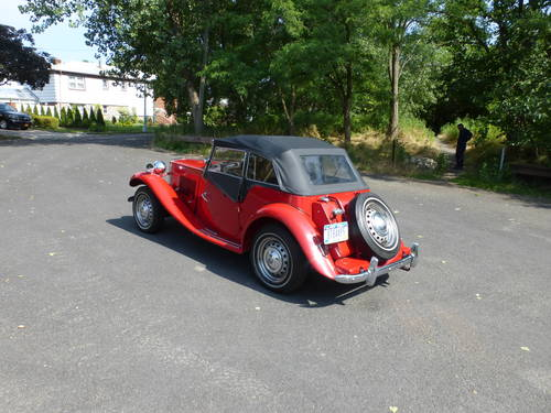 1953 MG TD MK-II A Good Driver - SOLD (picture 4 of 6)