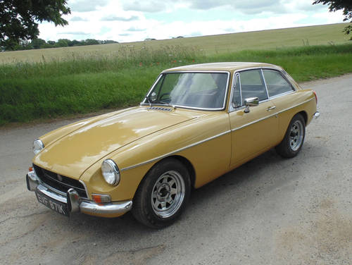1972 MG BGT SOLD (picture 1 of 6)