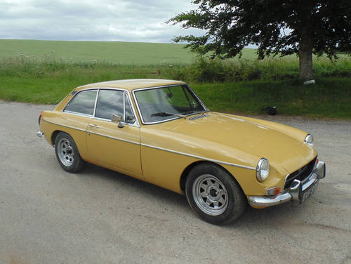 1972 MG BGT SOLD (picture 2 of 6)