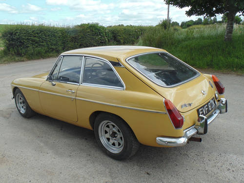 1972 MG BGT SOLD (picture 3 of 6)