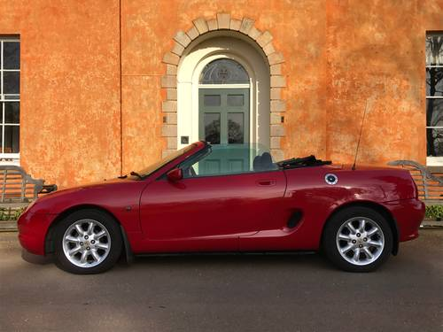 2000 MG MGF 1.8i - ONLY 23000 Miles, Exceptional *** NOW SOLD *** For Sale (picture 1 of 6)