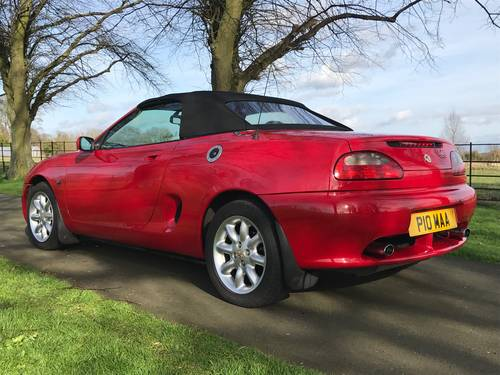 2000 MG MGF 1.8i - ONLY 23000 Miles, Exceptional *** NOW SOLD *** For Sale (picture 2 of 6)