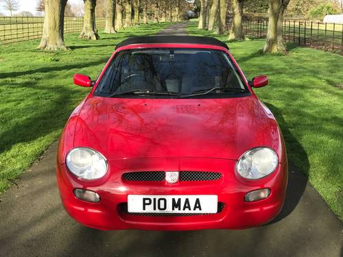 2000 MG MGF 1.8i - ONLY 23000 Miles, Exceptional *** NOW SOLD *** For Sale (picture 6 of 6)
