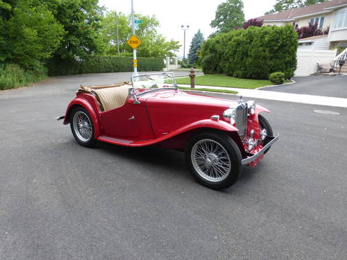 1949 MG TC Roadster Extremely Presentable - SOLD (picture 1 of 6)