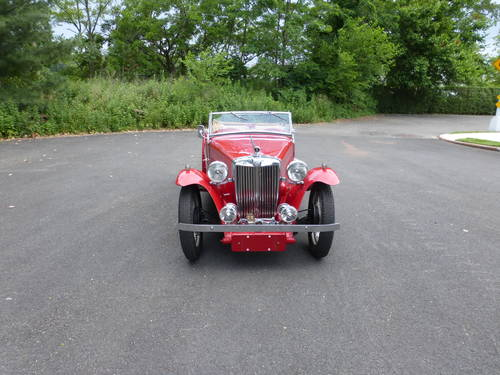 1949 MG TC Roadster Extremely Presentable - SOLD (picture 2 of 6)