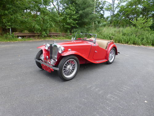 1949 MG TC Roadster Extremely Presentable - SOLD (picture 3 of 6)