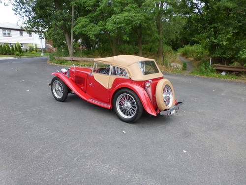 1949 MG TC Roadster Extremely Presentable - SOLD (picture 4 of 6)