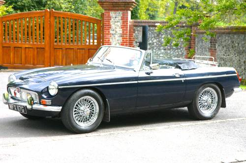 MGC ROADSTER 1969 With Overdrive and PAS SOLD (picture 1 of 6)