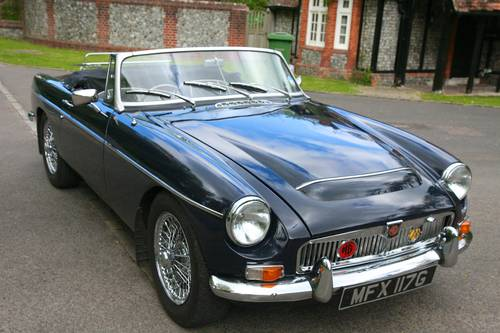 MGC ROADSTER 1969 With Overdrive and PAS SOLD (picture 6 of 6)