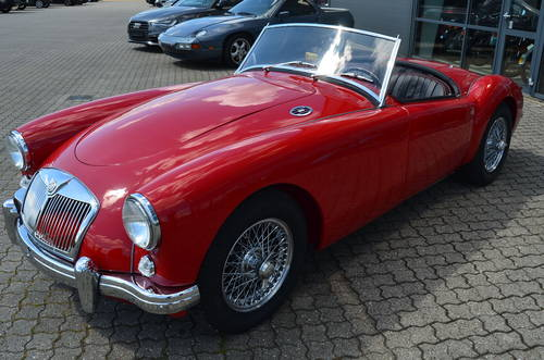 1956 MG A 1,5 Roadster  SOLD (picture 1 of 6)