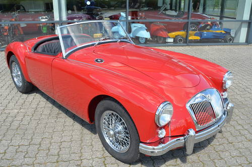 1956 MG A 1,5 Roadster  SOLD (picture 2 of 6)