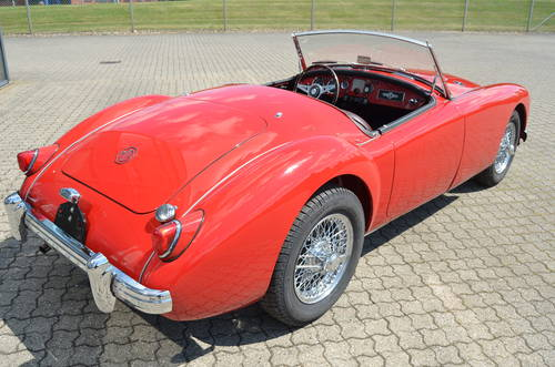1956 MG A 1,5 Roadster  SOLD (picture 3 of 6)