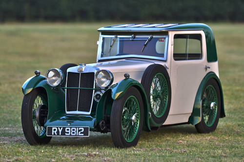 1932 MG Magna F Type Salonette SOLD (picture 1 of 6)