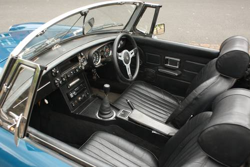 1973 MGB Roadster - Teal Blue, recent major structural resto SOLD (picture 4 of 6)