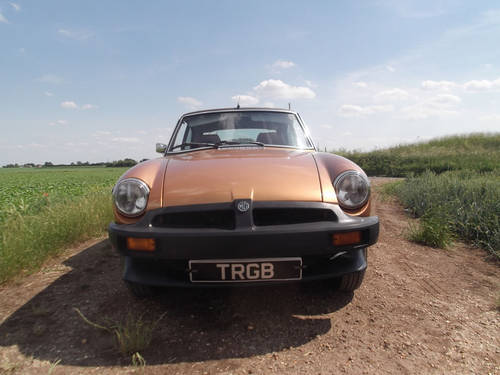 1977 MGB GT FOR SALE SOLD (picture 1 of 6)