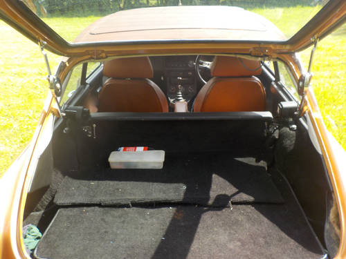 1977 MGB GT FOR SALE SOLD (picture 5 of 6)